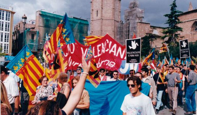 ¿Valencianos dónde estáis?