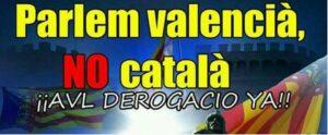 Lee más sobre el artículo Firma, #LlenguaValenciana no es dialecto del catalán. Paremos la suplantación #som5millons